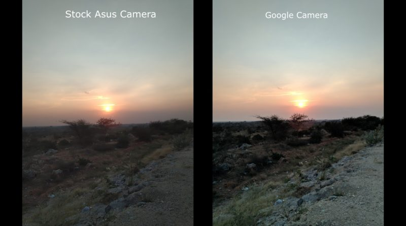 Zenfone Max Pro M2 Stock Camera Vs Google Camera